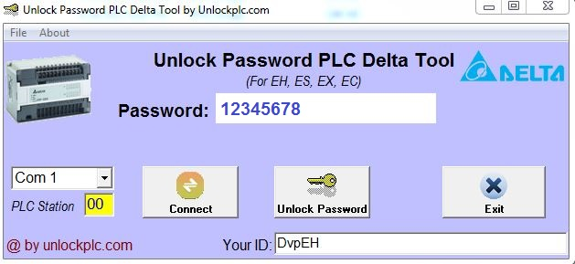 Crack Password PLC Delta