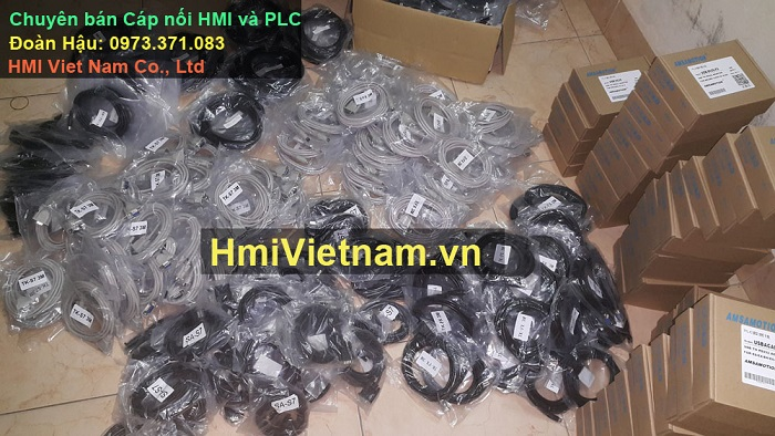 Cáp kết nối HMI -PLC
