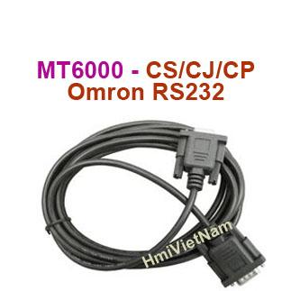 Cáp kết nối HMI Weintek MT6071iP với PLC Omron CJCSCP