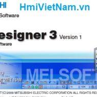 Phần Mềm Lập Trình HMI Mitsubishi [GT Designer 2 + 3]