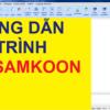 Hướng Dẫn Lập Trình HMI Samkoon [Bài 1 – Cơ Bản]