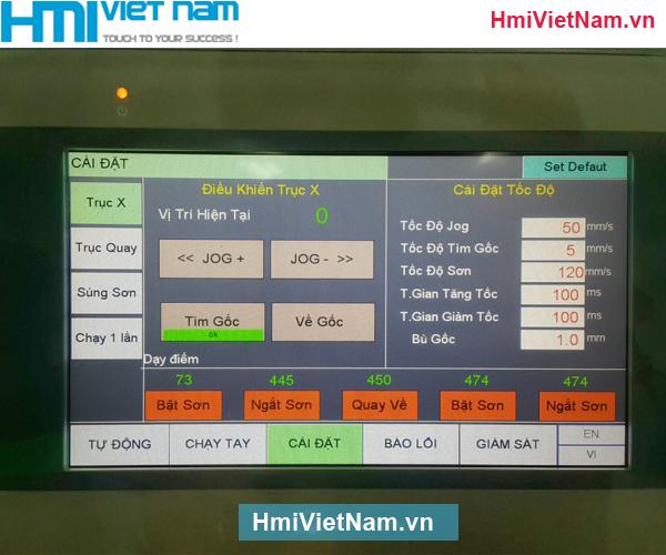 Lập Trình Tủ Điện HMI MT8071iE