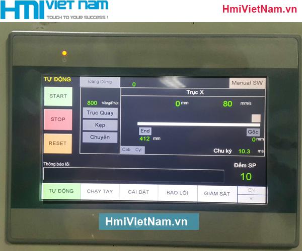 Lập Trình Tủ Điện PLC HMI