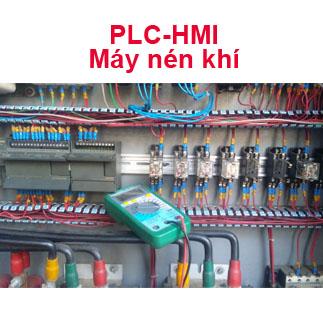 Lập Trình PLC-HMI Máy Nén Khí