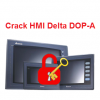 Crack Password HMI Delta DOP-A